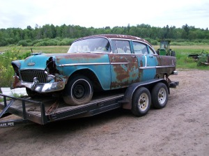 The bad spots on this car were a bit more apparent than on some cars. Floors and quarter panels, and around windows are good places to look for rust