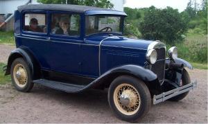 restored car