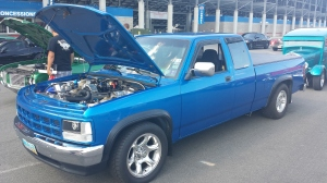 513 Motorsports twin turbo 1993 Dodge Dakota, runs 11's in the quarter mile. Sweet!!!!