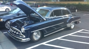 1952 Chevrolet Deluxe, with LT1 (1990's version), by Rick Brooks, Newberry Car Buffs.