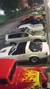 Cool HRPT parking lot!