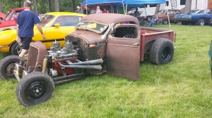 Rich from Hoosier HeadHunters car club from Cedar Lake, IN.