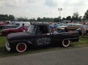 David Brown 1964 Ford truck. Very cool shop truck style!