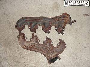 These are exhaust manifolds. They do the same job as headers, but they don't flow as good or make as much horsepower and often weight more because they are cast iron instead of steel tubes, which are thinner. Although headers could weight more because they are longer but they they make more horsepower.
