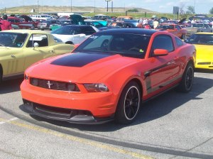 Modern Muscle car, 2012 Boss Mustang