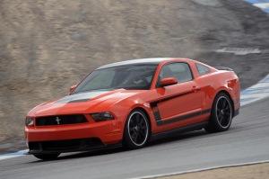 2012 Boss Mustang