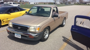 1998 Speed Taco 13.5 seconds in the quarter mile. Super Taco!
