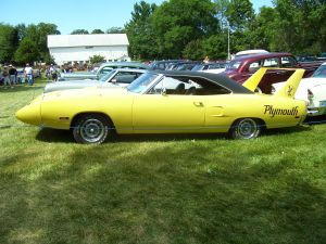 Muscle car, Plymouth Super Bird. A very long car!