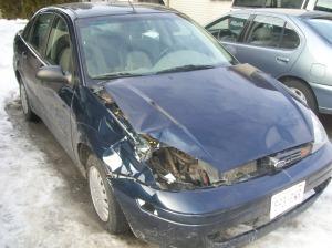 Deer Killer. Winter Beater. Throw away car.