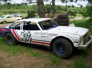 My brother's race car, before I smashed it....