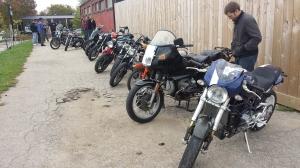 1st MotoGents bike show